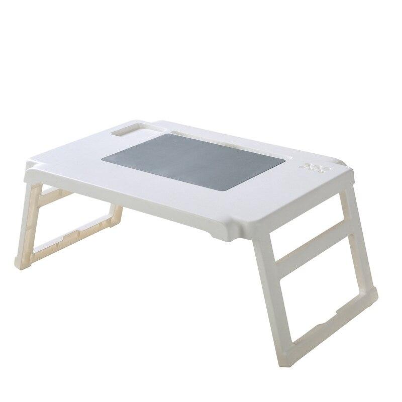 Folding Notebook Computer Desk Stand Portable Plastic Learning Desk Storage Bag Multifunctional Storage Desk Tray
