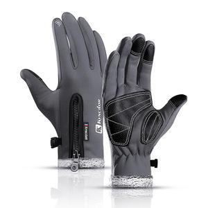 Snowboard Gloves Mittens Ski Motorcycle Thermal-Fleece Winter Waterproof Women Touch-Screen