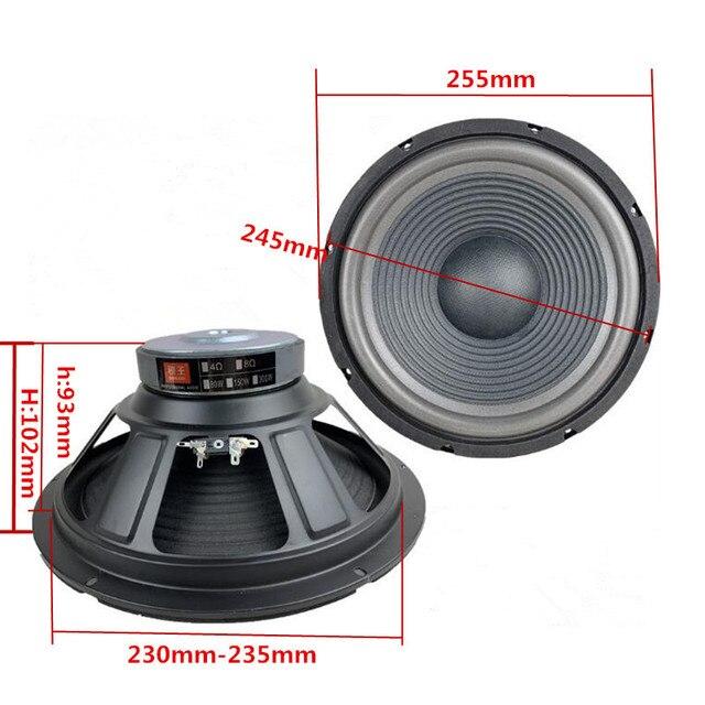 10 inch Woofer Speaker 150W 8 Ohm 5