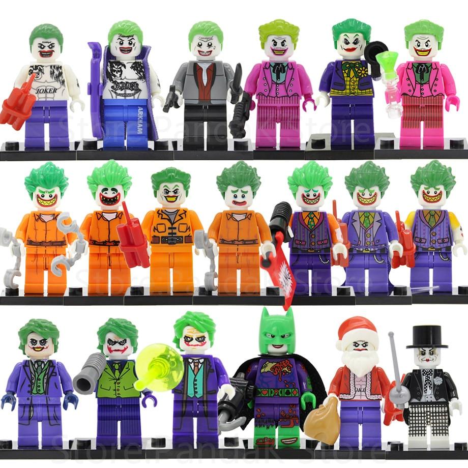 Single Sale Magician Joker Figure Prisoner Suicide Squad Batman DC Super Hero Building Blocks Sets Models Toys Legoing