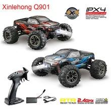 Xinlehong Q901 1/16 2.4G 4WD 52 km/h RC Cars bezszczotkowy pilot światło LED do pojazdów RTR zabawki w/nadajnik dla Kid