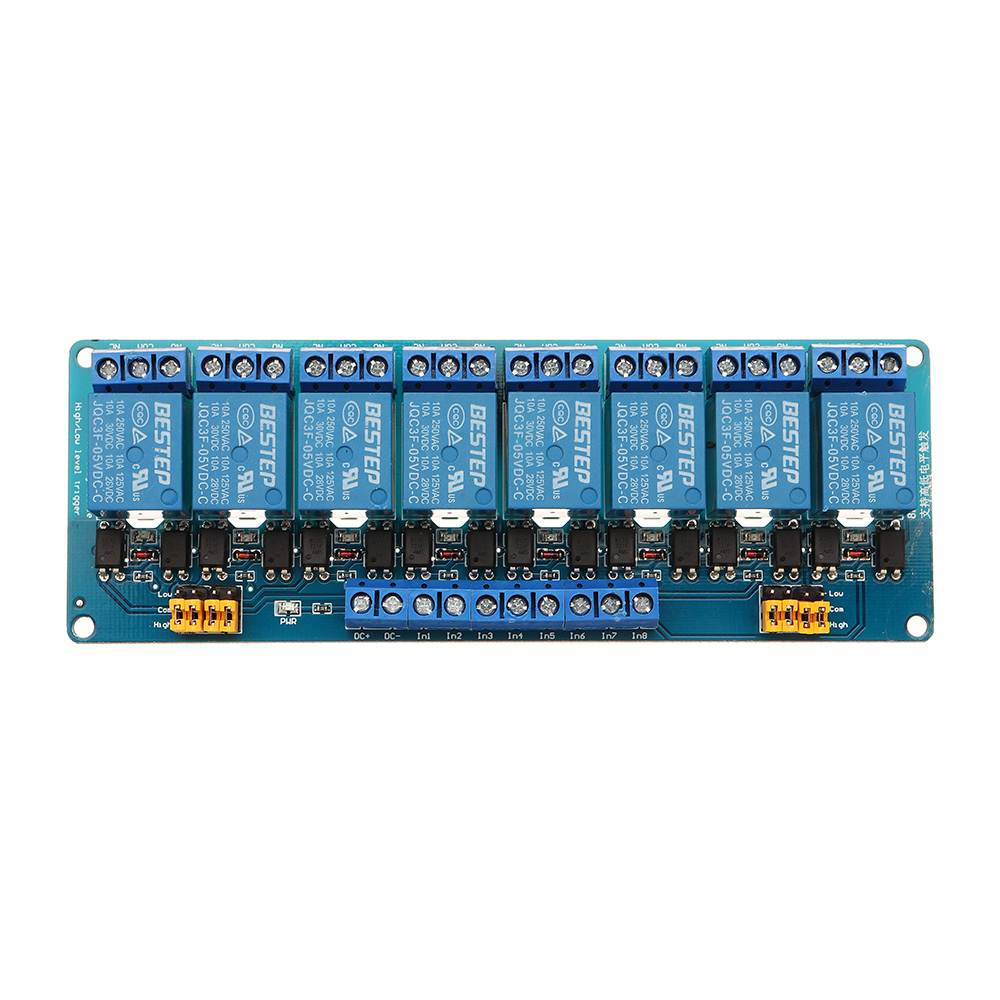 1Pc 8 Channel Relay Module With Optocoupler Relay Module For Arduino
