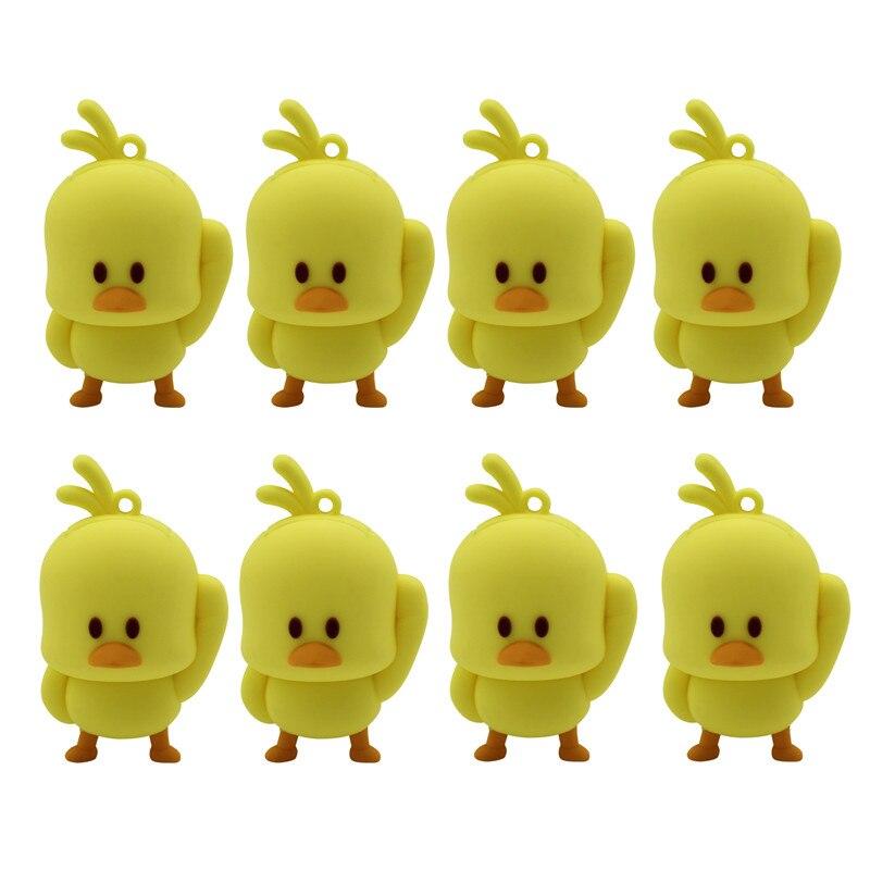 BiNFUL New Style Cartoon Cute Mini Chick Usb2.0 Pendrive Model  8GB 16GB 32GB 64GB Usb Flash Drive Pen Drive Cute U Disk