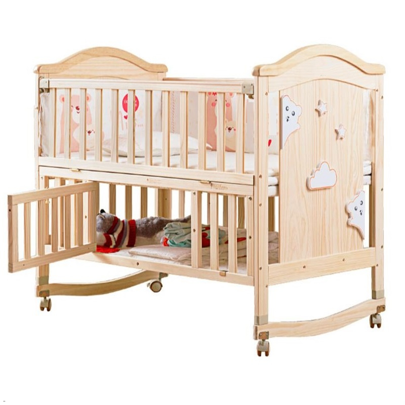 Lozeczko Dzieciece Cama Infantil Children's Cameretta Bambini Wooden Chambre Lit Enfant Kinderbett Children Baby Furniture Bed