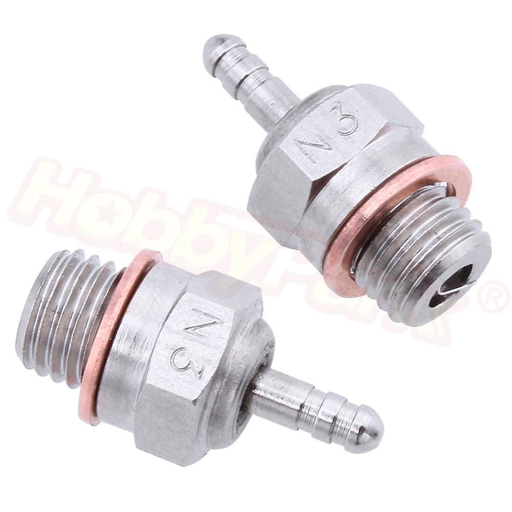 Gaetooely N4 Hot Glow Plug Spark for HSP 70117 1//10 1//8 RC Buggy Truck Vertex SH Nitro Engine Parts