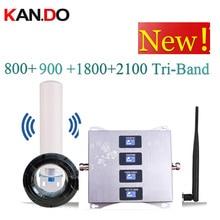 4 להקת מגבר 4G LTE800 900 1800 2100 טלפון סלולרי בוסטרים נייד אות מגבר 2G 3G 4G LTE משחזר GSM DCS WCDMA 3G 4G