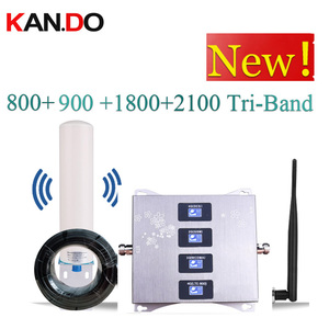 Image 1 - 4 Band BOOSTER 4G LTE800 900 1800 2100 Cell Phone Booster Mobile Signal Amplifier 2G 3G 4G LTE Repeater GSM DCS WCDMA 3G 4G