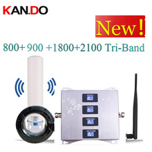 4 Band BOOSTER 4G LTE800 900 1800 2100 Mobiele Telefoon Booster Mobiele Signaalversterker 2G 3G 4G LTE Repeater GSM DCS WCDMA 3G 4G