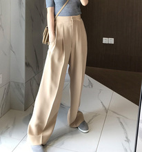 FATIKA 2019 Winter Hot Women Thick Pants Loose Solid Wide Leg Pants Trendy Ladies Loose Trousers Womens Clothing