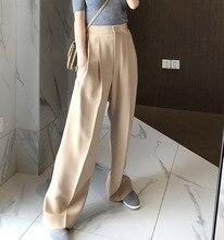 FATIKA pantalon pour femmes épais, ample, jambes larges, tendance, ample, tendance, tendance, tendance, vêtements dhiver, collection 2019