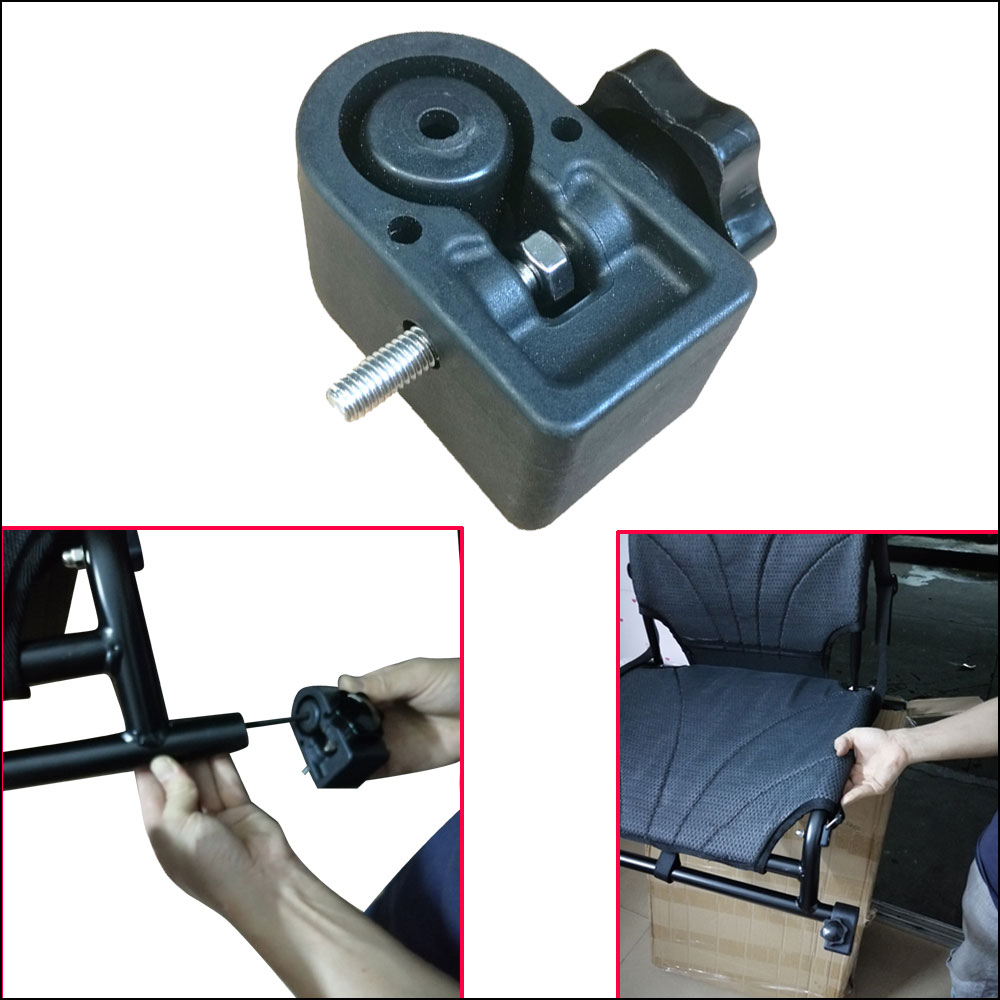 1 Pair Canoe Boat Chair Kayak Seat Foot Bracket Fixing Secure Fastener Screw Supporter Replacement Kayak Chair Accessories