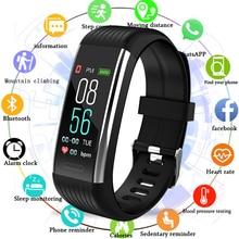 Fitness Bracelet Heart Rate Monitor Pedometer Smart Blood Pressure Tracker Watch Men Women PK Mi hand 3