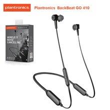 ต้นฉบับPLANTRONICS BACKBEAT GO 410 Wireless ActiveลดเสียงรบกวนหูฟังDual Modeสิทธิบัตรเซ็นเซอร์แม่เหล็กชุดหูฟัง