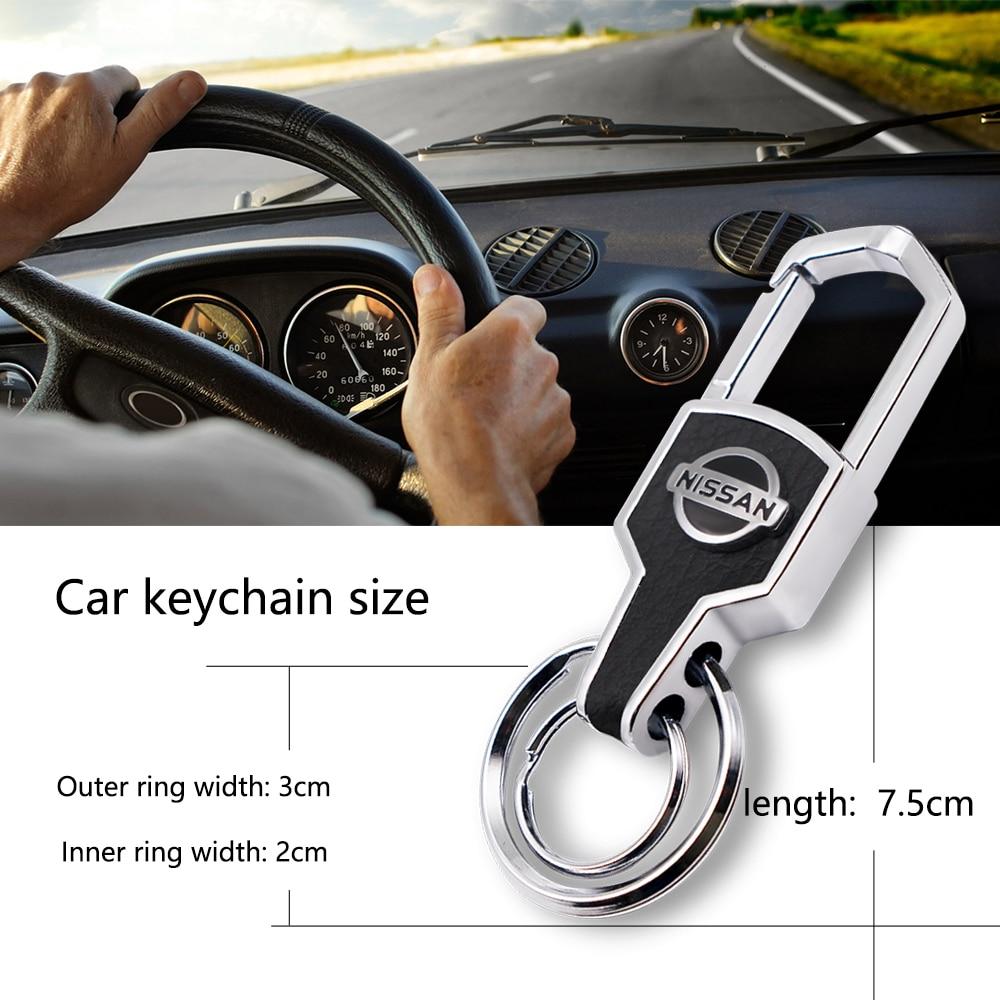 Металлический автомобильный модный творческий брелок для ключей
