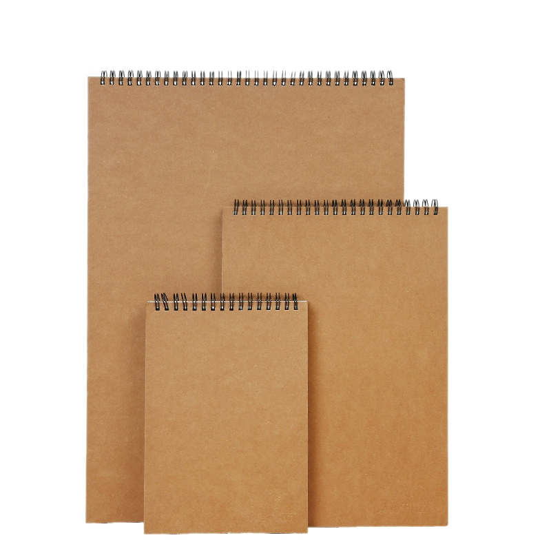 3Pcs/Set 30 Sheets Sketchbook For Drawing Painting Professional Cattle Card Sketch Paper Book School Supplies Stationery