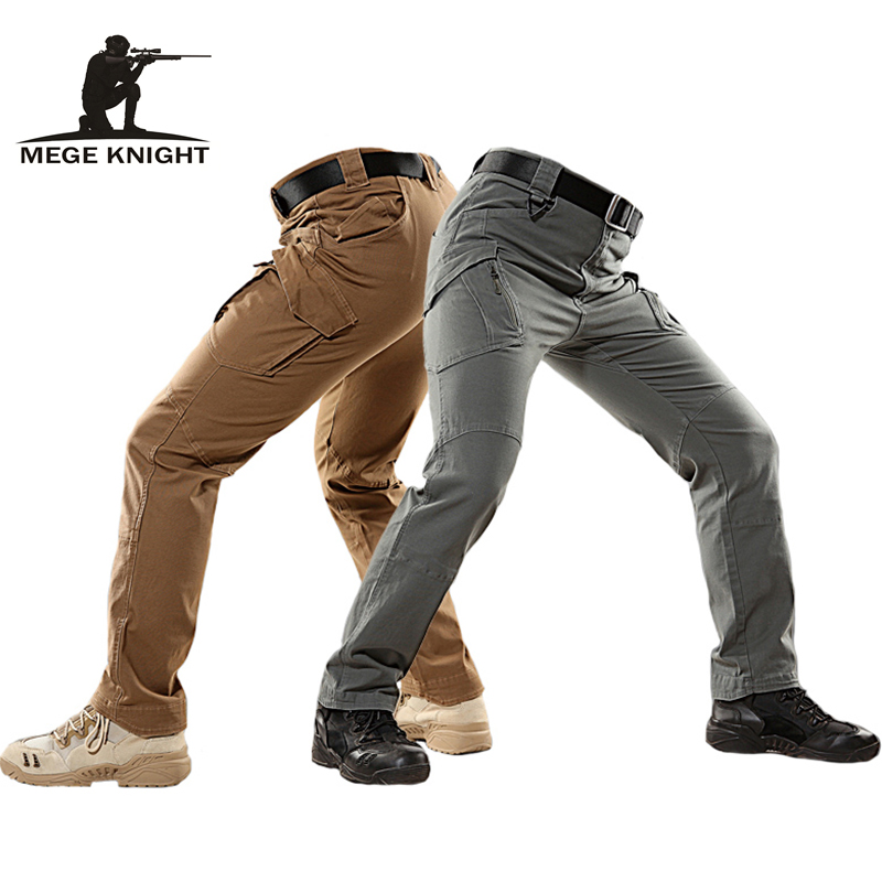 Mege Brand Tactical Military Cargo Pants Combat Trousers Multi Pockets Casual Cotton Pants Stretchable Breathable Dropshipping