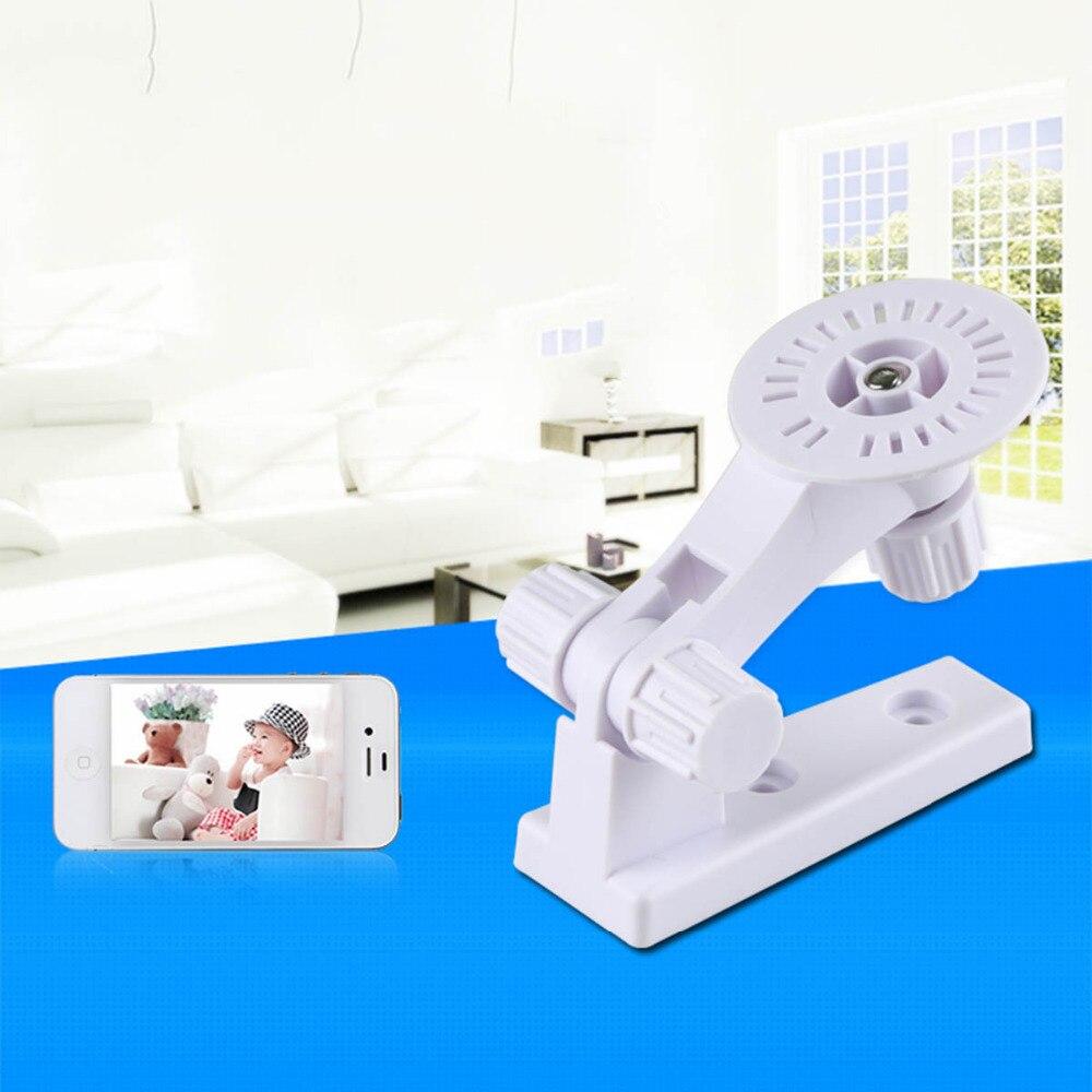 180 Degree CCTV IP Camera Wall Mount Stand Module  Indoor / Outdoor Mini Mount Bracket Camera White Plastic Mount CCTV Support