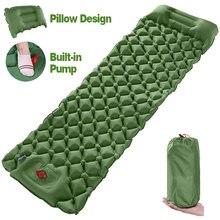 Туристический Коврик для сна легкий надувной матрас водонепроницаемая