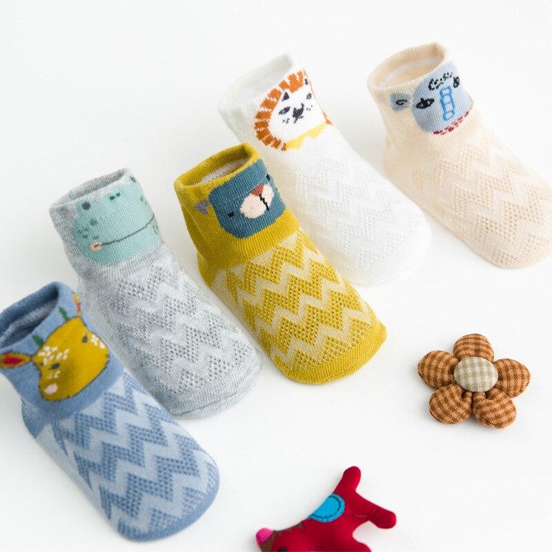 Spring And Summer New Style Mesh Baby Socks Cartoon Stereo Ear Infant Tube Socks Cotton Children's Socks