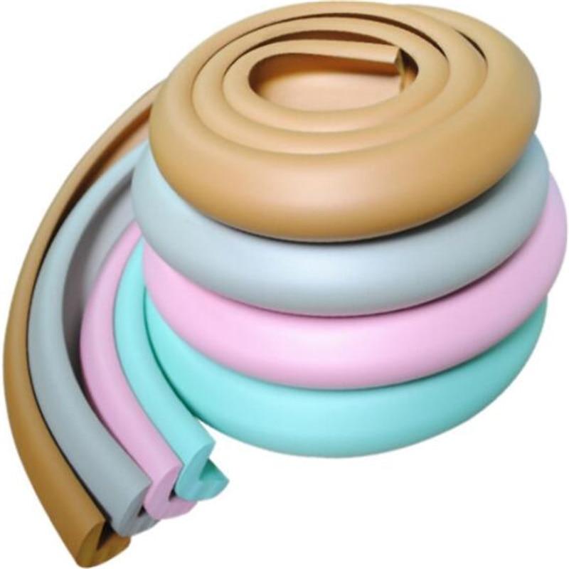 2m L Type Thicken Baby Anti-collision Strip NBR Protective Strip Security Strips Furniture Anti-collision Foam Sponge