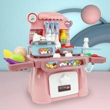 Baby Miniature Kitchen Plastic Pretend Play Food Children To