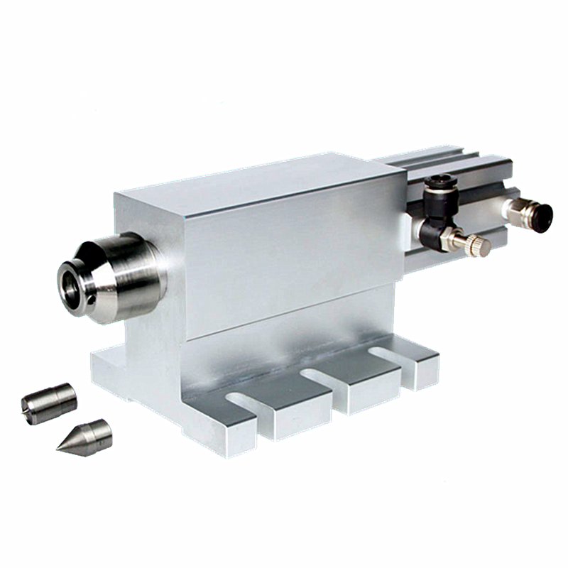 CNC Tailstock Waterproof For Rotary Axis 4th A Axis CNC Router Engraver Milling Machine