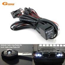 Релейный комплект жгутов проводов для BMW E46 E36 E38 E39 E90 E91 E60 E61 ангельские глазки Halo кольца светодиодный или CCFL w/функция выцветания