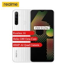 Realme-móvil 6i, 4GB + 128GB, 6,5