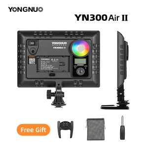 Image 5 - YONGNUO YN300AIR II RGB LED Camera Video Light,Optional Battery with Charger Kit Photography Light + AC adapter
