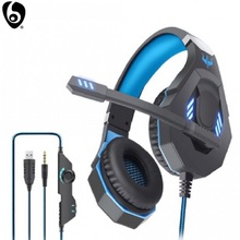 Wired-Gaming-Headset Microphone PS4 E-Sports Surrounded Stereo OVLENG with LED Hifi