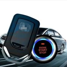 Car Alarm Start System Key Passive Keyless Entry Push Button Remote B2AE 12v car universal push button start keyless entry ignition preheating system remote start