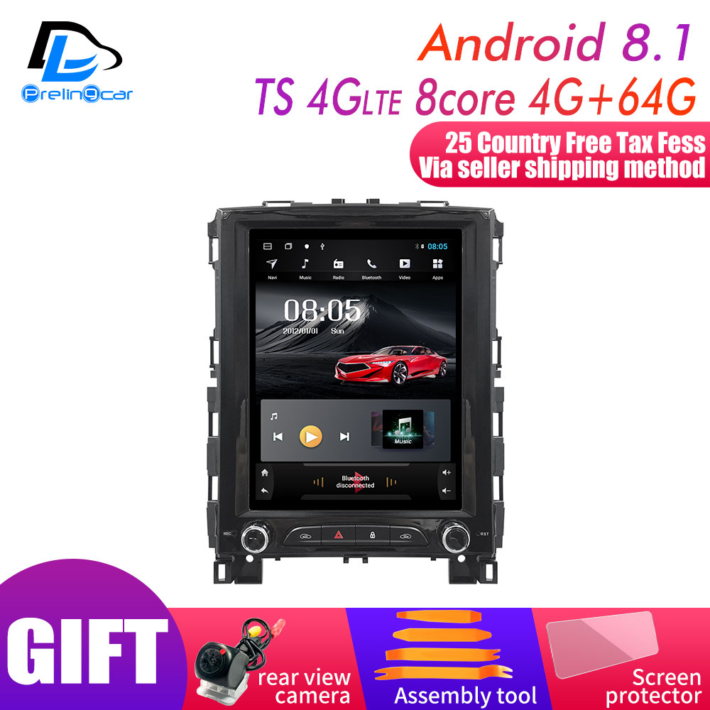 4G Lte Vertical Screen Android Car Gps Multimedia Video Radio Player  For Renault Megane Koleos  2012-2016 Years Navigation