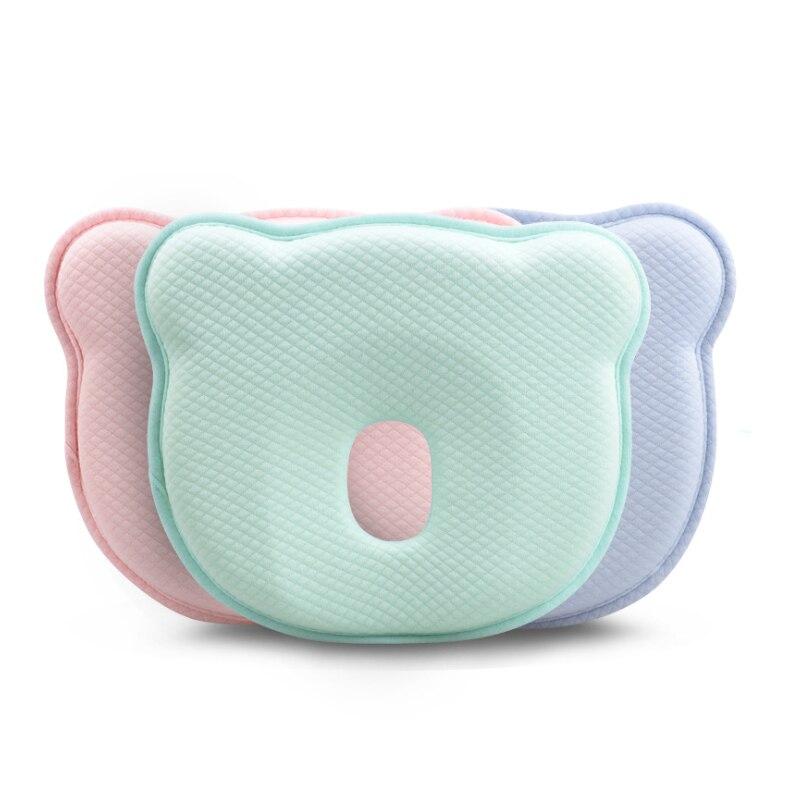 Memory Cotton Baby Shaped Pillow Anti Skew Baby Pillow Modal Pillowcase