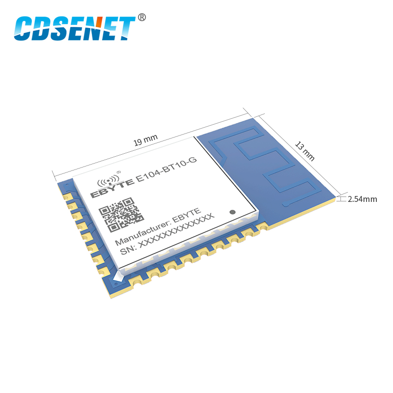 Image 3 - E104 BT10 G 2.4GHz TLSR8269 Bluetooth Transceiver UART Module SMD GFSK SigMesh Gateway For Mesh Network-in Fixed Wireless Terminals from Cellphones & Telecommunications