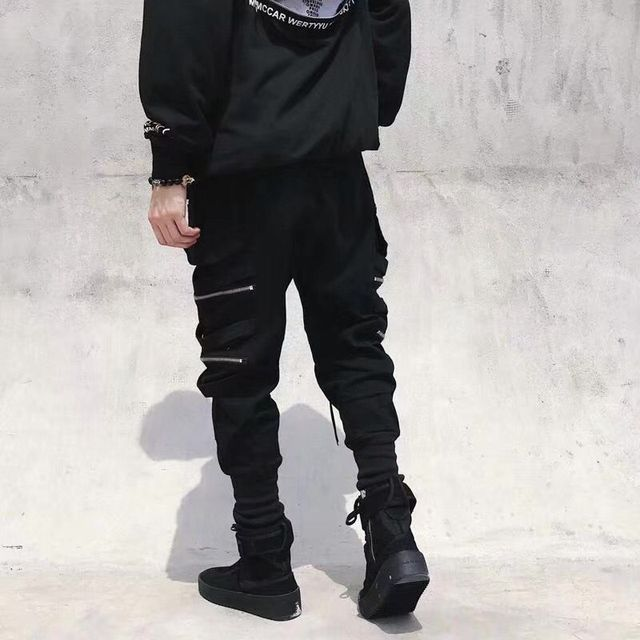 Мужские штаны с боковыми карманами  6