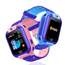 Anti lost child smart watch GPS locator SOS smart positioning control phone children baby watch Compatible with IOS and Android zgpax pg88 gsm watch phone w 1 44 lcd screen quad band gps positioning and sos black silver