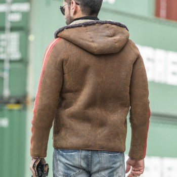 Luxury Reversible Genuine Sheepskin Jacket 5XL