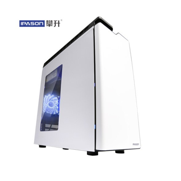 IPASON Gaming Computers G4560 Upgrade G5400 DDR4 4G 240G 560 4G Cheap Gaming PC Enterprise Procurement Desktop Computer PC