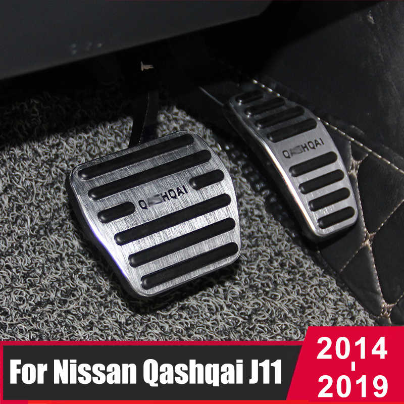 Chorme car Gas Fuel Brake Foot Pedal Fit for Nissan Qashqai 2014 2015 2016 2017