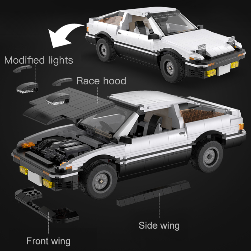 Cada C61024W LED City Technical RC Drift Racing Car
