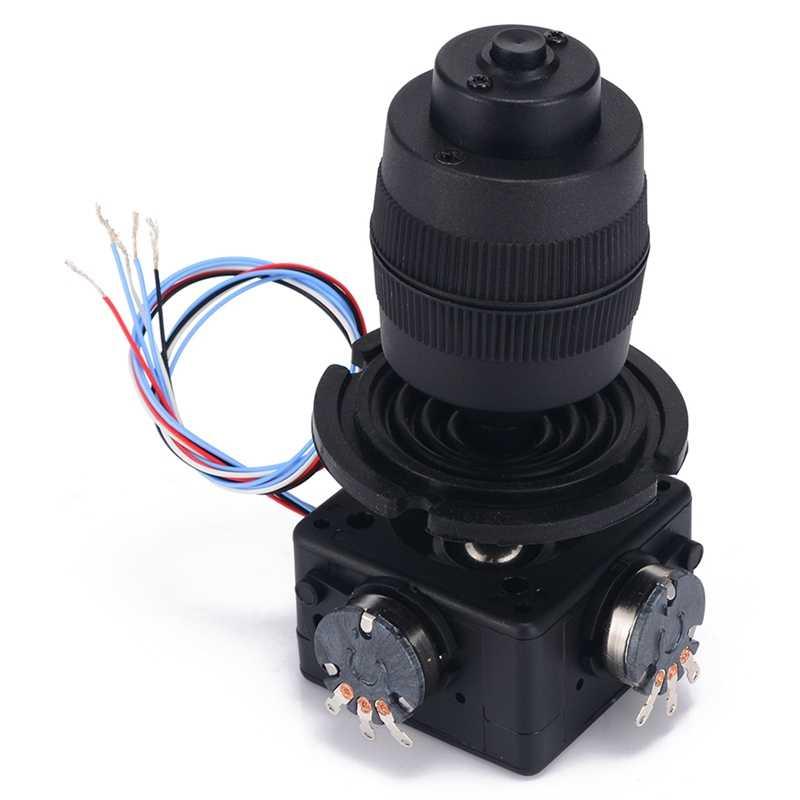 Электронный 4 оси джойстик Кнопка потенциометра для JH-D400B-M4 10K 4D контроллер с печатной платой с провод для промышленного