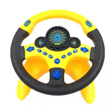 Simulation Steering Wheel Toy Baby Musical Developing Enlightenment educationToys Electronic Vocal Toys Children Birthday Gift