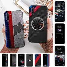 Fhnblj alemanha luxo m bmw caso de telefone para samsung nota 3 4 5 7 8 9 10 20 pro lite ultra oppo a9 2020