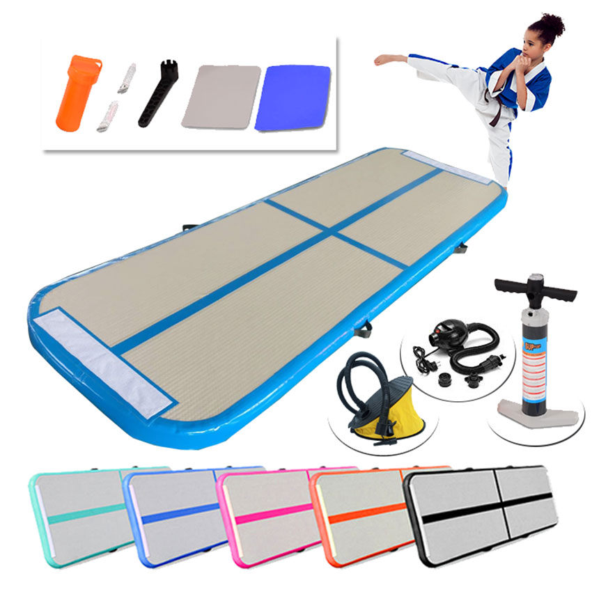3m 4m 5m Inflatable Air Track Gymnastics Mattress Gym Tumble Airtrack Floor Yoga Olympics Tumbling Wrestling Yogo Electric Pump