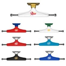 "2PCS USA Royal Skateboard Lkw 5,25 inch Aluminium Lkw 5,0 ""Doppel Rocker Skateboard Zubehör Straße Skate Lkw"