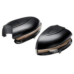 2X Автомобильный светодиодный Динамический указатель поворота, индикатор бокового зеркала, мигалка для VW Golf 6 MK6 GTI 6 R20 MKVI Touran