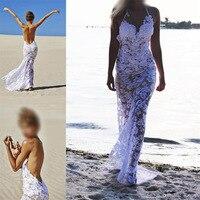 Plus Size Dresses For Women Sun Lace Dress Long Boho Chic Hippie Beach Clothes Sukienki Casual White Trendy Dress Open Shoulder