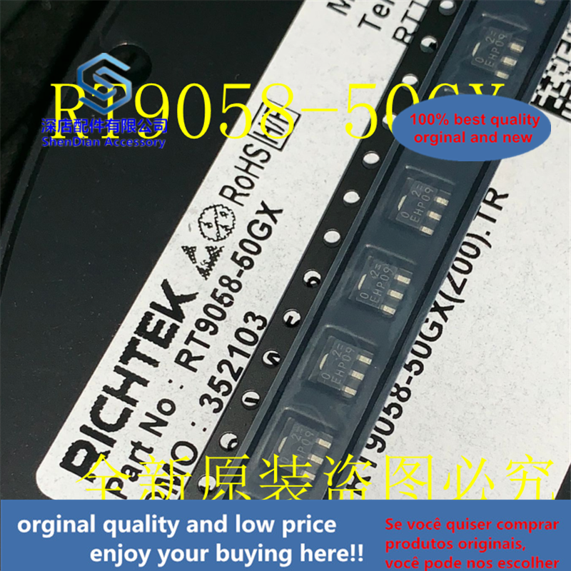 10-20pcs 100% Orginal And New RT9058-50GX RICHTEK SOT  RT9058-50 Silk-screen 02=  Best Qualtiy