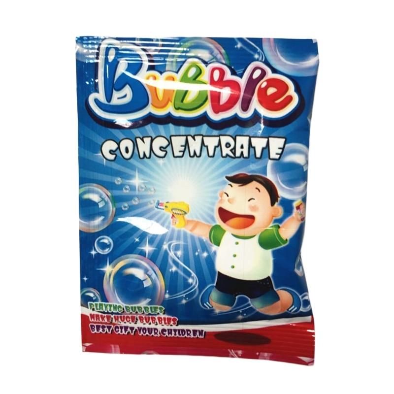 New 100ml Concentrate Bubbles Liquid Soap Water Bubble Gun Accessories  19QF