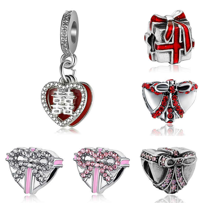 Fit Pulsera Pandora Charms Original Bracelet Beads for Jewelry ...